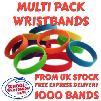 MULTI-PACK DINNER BANDS X 1000 pcs. Includes express delivery.