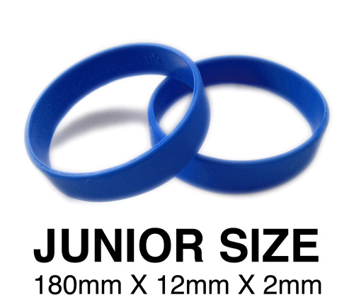Junior Royal Blue school wristbands