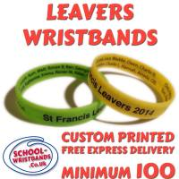 **SCHOOL LEAVERS GIFTS - www.School-Wristbands.co.uk