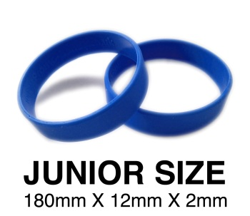 DINNER BANDS - ROYAL BLUE - JUNIOR  X 50 pcs. Includes express delivery.