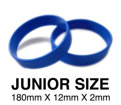 DINNER BANDS - ROYAL BLUE - JUNIOR  X 50 pcs. Includes express delivery & V