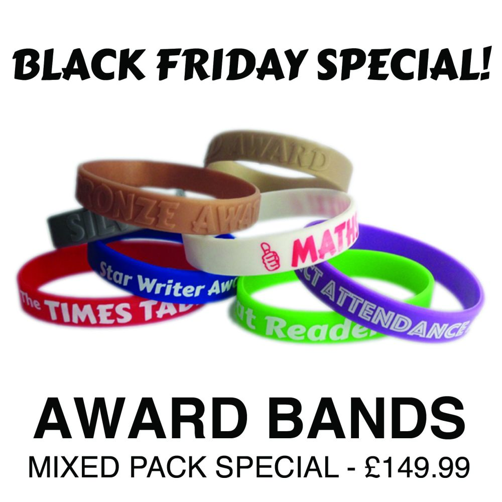 MIXED AWARD BANDS PACK - ONLY £149.00!