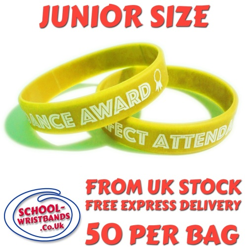 ATTENDANCE - JUNIOR SIZE - YELLOW - Includes express delivery!