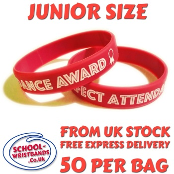 ATTENDANCE - JUNIOR SIZE - RED - Includes express delivery!