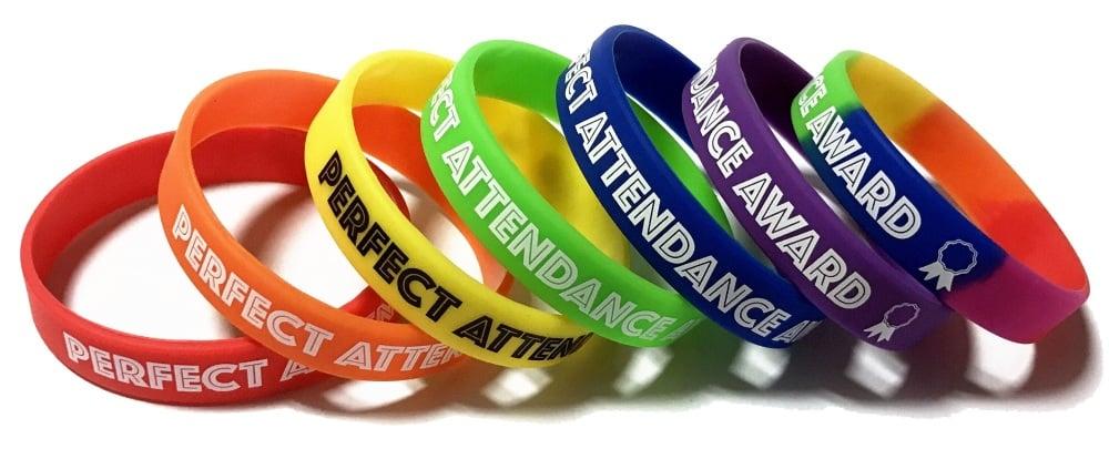 SCHOOL ATTENDANCE WRISTBANDS www.school-wristbands.co.uk