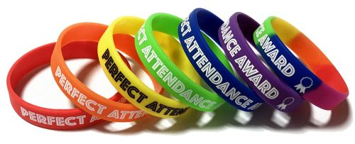 SCHOOL ATTENDANCE WRISTBANDS www.school-wristbands.co.uk