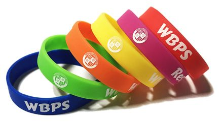William Bellamy Primary School - Custom Printed School Wristbands by School
