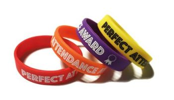 Southwark Primary School - Custom Printed Attendance Reward Wristbands by S