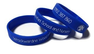 WrockWardine School Custom Printed School Wristbands by School-Wristbands.c