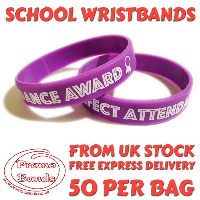 ATTENDANCE-SCHOOL-WRISTBANDS-www.Promo-bands.co.uk