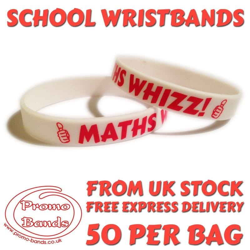 MATHS-SCHOOL-WRISTBANDS-www.Promo-bands.co.uk