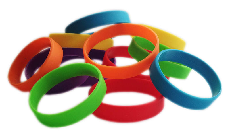FREE SCHOOL DINNERS INITIATIVE WRISTBANDS