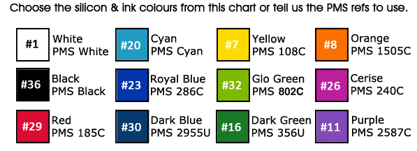 Printed-School-Wristbands-Colour-Chart