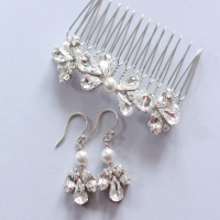Trio Comb and earring set - Special Offer
