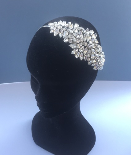 Agatha Headpiece