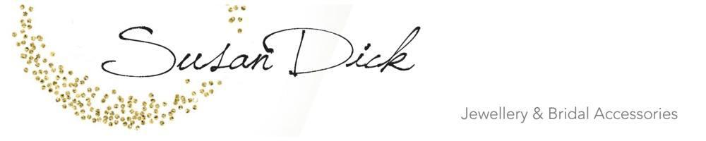 Susan Dick Jewellery & Bridal Accessories, site logo.