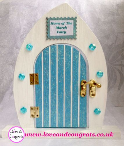c. March Fairy Door & Fairy Flower Necklace