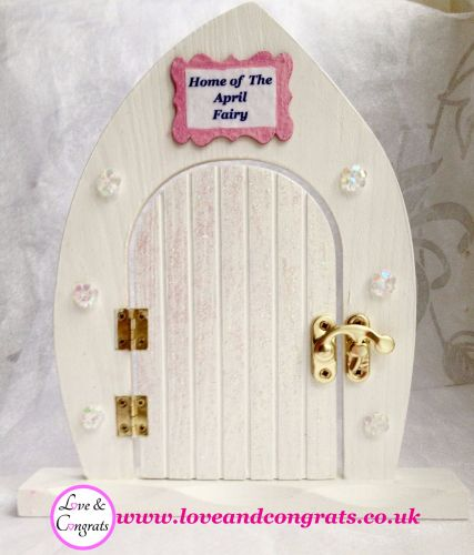d. April Fairy Door & Fairy Flower Necklace