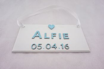 Name Plaque - Date