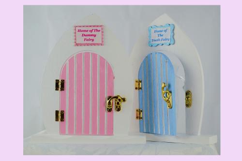 Dummy Fairy Door - Pink or Blue