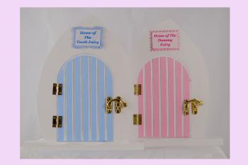 Tooth Fairy Door - Blue or Pink