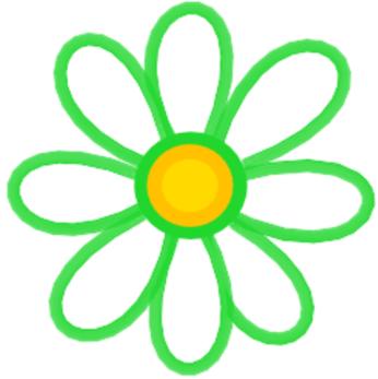 V-Eco Food Wraps Daisy Logo