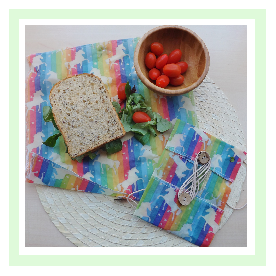 Image of ButtyWrap with sandwich and tomatoes