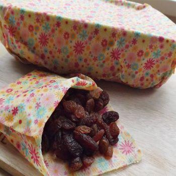 Pack B -  3 Food Wraps - 2 Medium, 1 Small