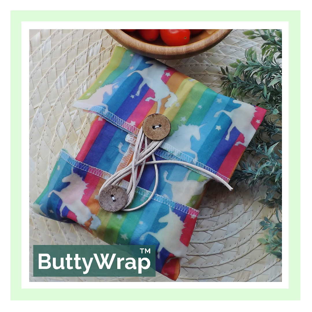 "V-Eco Food Wraps Unicorn ButtyWrapâ""¢"