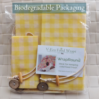 Yellow Gingham Plain WrapRound