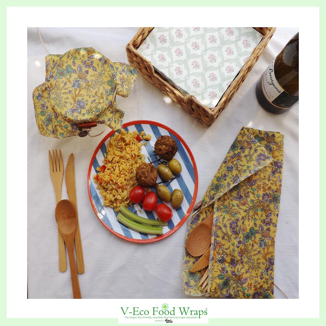 a. PicnicPack™ Wraps & Bread Wraps Yellow