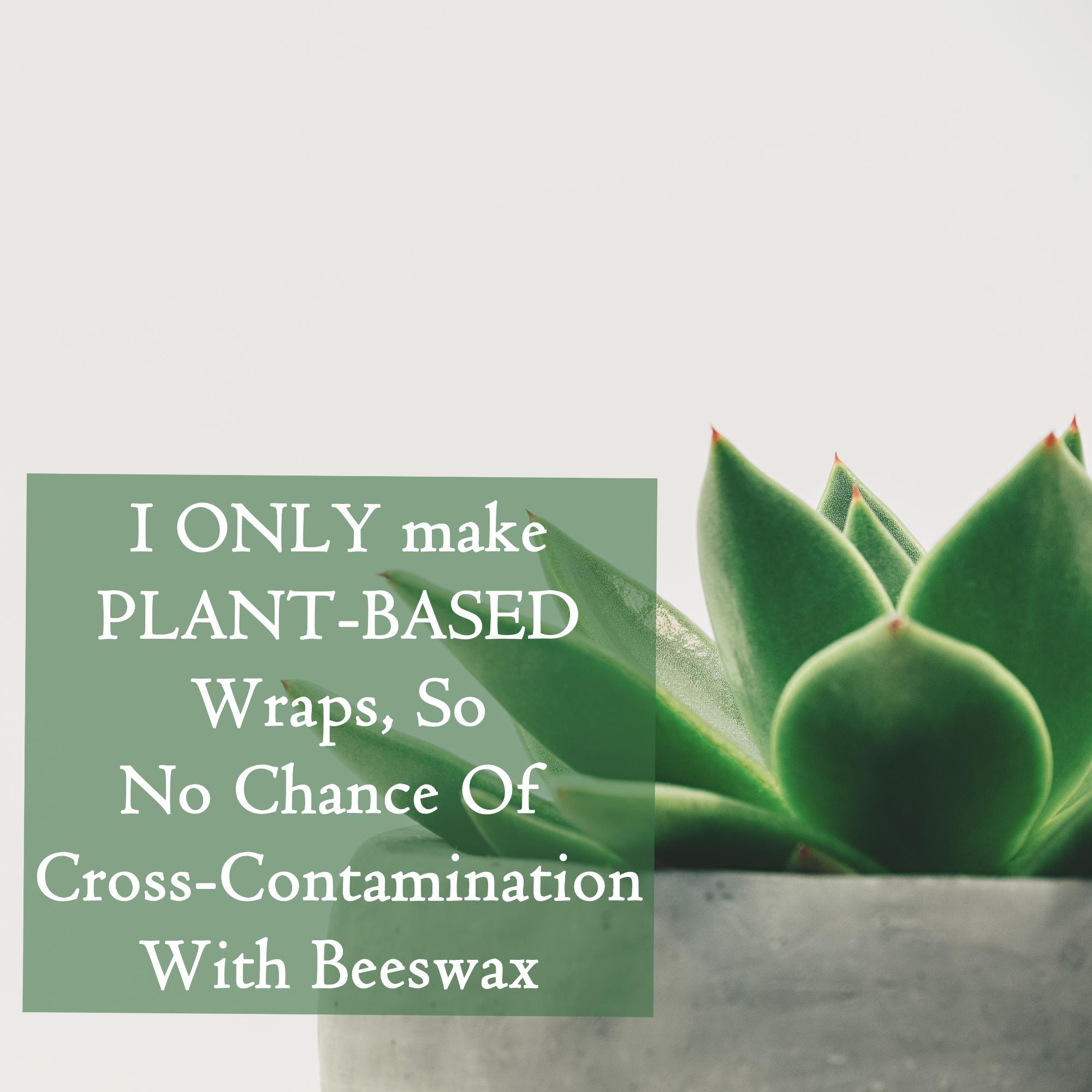 V-Eco Food Wraps - We only make vegan wraps so no accidental cross-contamination