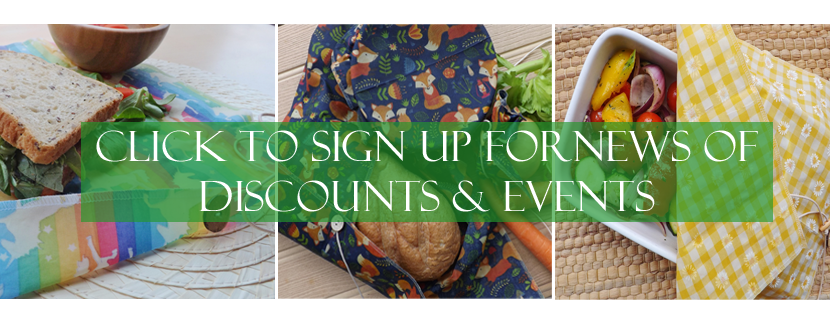 sign up for news of discounts and events