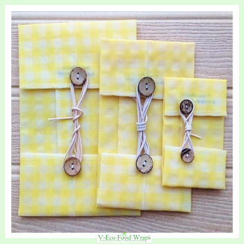 Yellow Plain Gingham - WindRound™