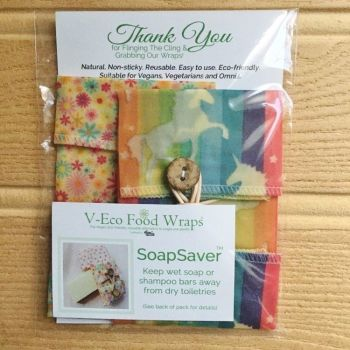 SoapSaver™ - Unicorn & Ditsy Pink Flowers