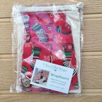 WrapRound™ - Xmas Red Stockings