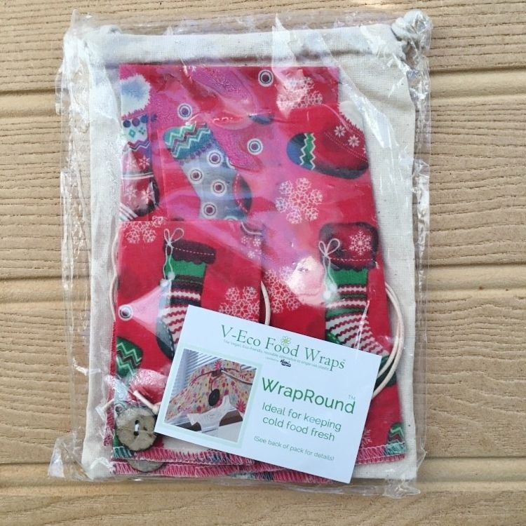 WrapRound™ - Xmas Red Stockings