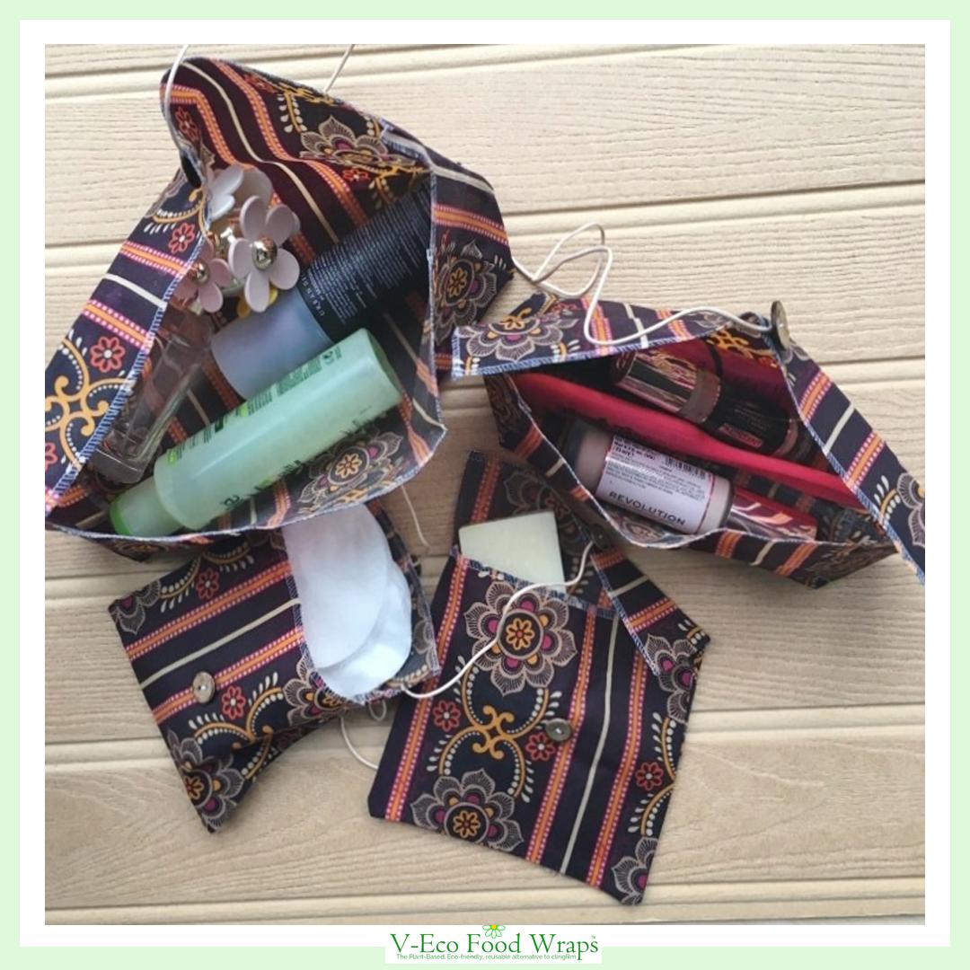 BeautyBundle™ - Burgundy Floral Stripe