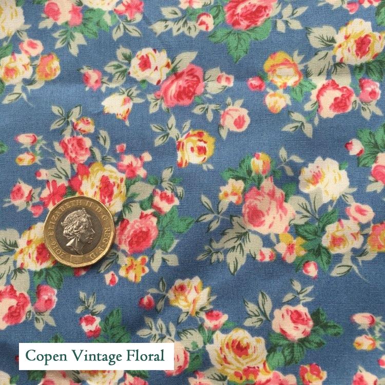 """V-Eco Pamper Packsâ""""¢, Floral Copen fabric"""