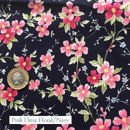 """V-Eco Pamper Packsâ""""¢, Pink Ditsy Floral fabric"""