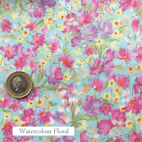 """V-Eco Pamper Packsâ""""¢, Watercolour Floral fabric"""
