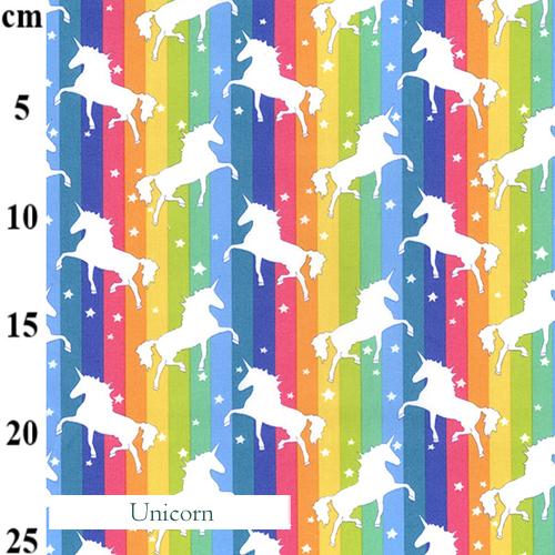 V-Eco Food Wraps, Unicorn fabric
