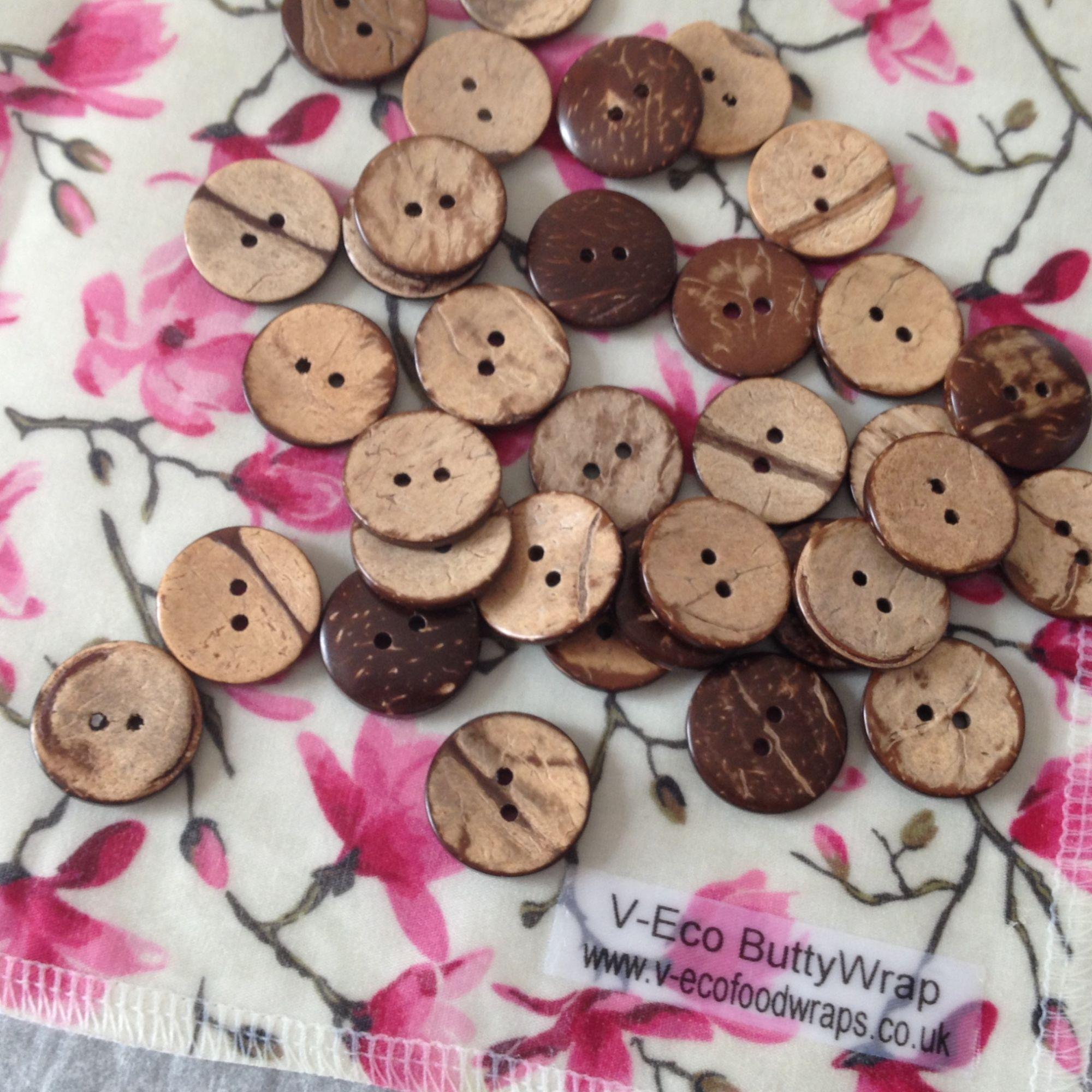 Coconut buttons, V_Eco Home