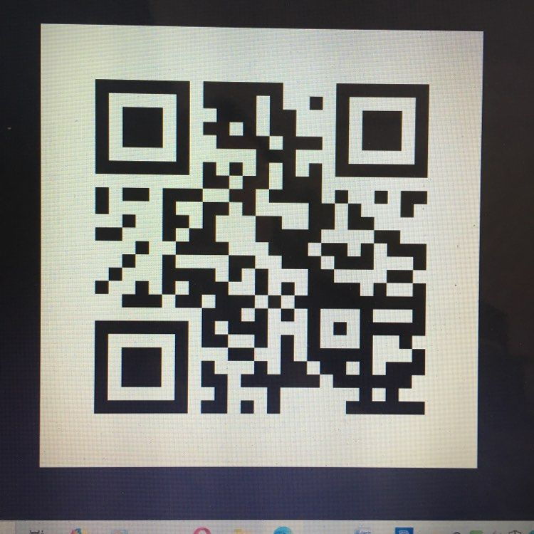 V-Eco Home QR code for sign-up form to email list