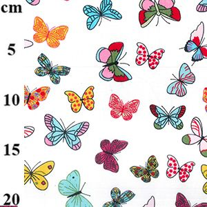 V-Eco Food Wraps, Butterflies fabric