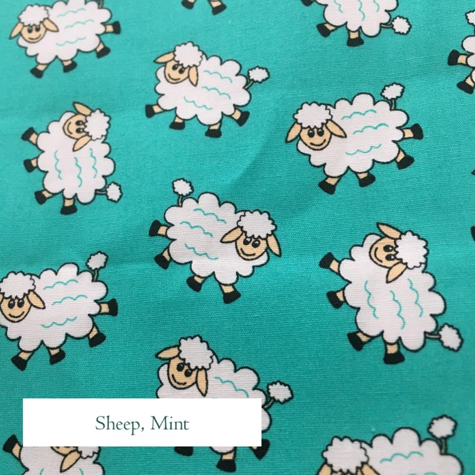 Sheep Mint Fabric, V-Eco Home