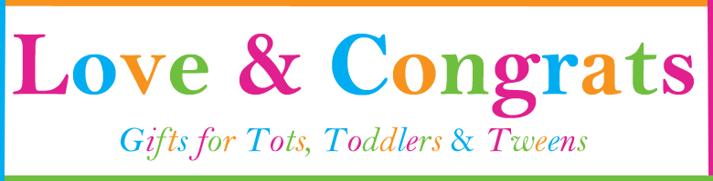 Love & Congrats - Gifts For Tots, Toddlers & Tweens, site logo.