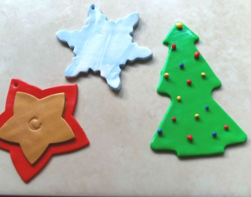 Hand make your Christmas tree decorations