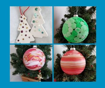 Hand make your Christmas tree decorations 23 Nov