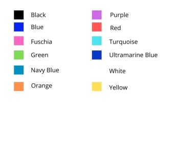 Colours for website kits